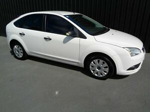 2008 Ford Focus LT CL White 5 Speed Manual Hatchback Chifley Woden Valley Preview