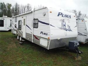 2008 Puma 27FQ Travel Trailer with Bunkbeds- Sleeps up to 9 Stratford Kitchener Area image 1