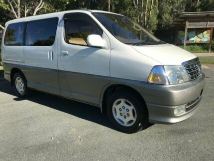 1999 Toyota Granvia VCH10 Grand Highace White 4 Speed Automatic Campervan Warana Maroochydore Area Preview