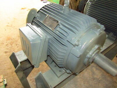 New Old Stock Worldwide Electric 3 Phase 3000 Rpm 15 Hp Electric Motor