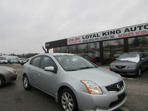 2012 NISSAN SENTRA  CERTIFIED & E TESTED