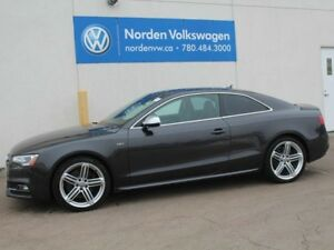 2013 Audi S5 S5 MANUAL - HEATED LEATHER / GLASS MOONROOF / ALL