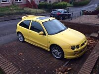 1.4 MG ZR mk1, Low miles 54k, Mot March27th, easy pass.