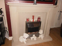 Resin Fire Surround and Hearth