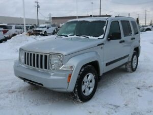 2011 Jeep Liberty SPORT, 3.7L V6, 4WD, AUX ACCESS, PWR ACCESSORI