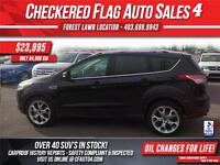 2013 Ford Escape Titanium-4WD-NAVI-S.ROOF-LTHR