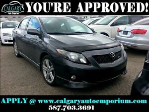 2009 Toyota Corolla XRS $99 DOWN EVERYONE APPROVED