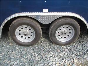 "18' CARGO TRAILER WITH 12"" EXTRA HEIGHT Prince George British Columbia image 3"
