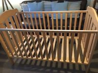 Mamas and Papas 3 Position Cot Bed