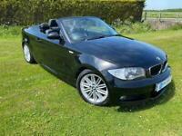 2008 BMW 120i M Sport Convertible - Petrol - Manual - Black