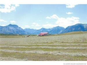 Near the Entrance of Beautiful Waterton National Park!!