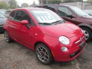 2012 Fiat 500 POP - ONLY 111,567 klm's.