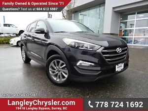 2016 Hyundai Tucson Premium ACCIDENT FREE w/ AWD, REAR-VIEW C...