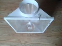 6 air cooled grow light shades