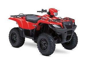 """DEMO"" 2014 Suzuki 750 KingQuad 4x4 Red"