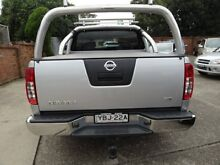 2013 Nissan Navara D40 MY12 ST 4X4 Silver 6 Speed Manual Dual Cab Pick-up Sylvania Sutherland Area Preview