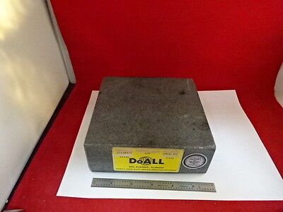 Metrology Inspection Doall Granite Flatness Table As Is 51-a-01