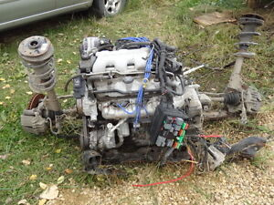 motor and whole drivetrain out of 2004 grand am