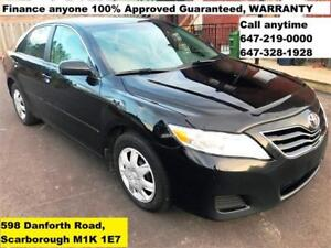 2010 Toyota Camry FINANCE 100% APPROVED GUARANTEED WARRANTY