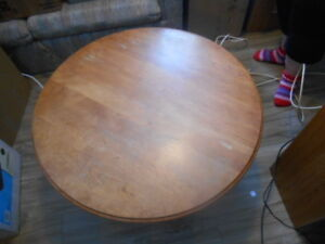 "TABLE A CAFÉ RONDE 36"" / 36"" ROUND COFFEE TABLE"