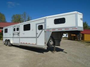 Jamco horse trailer find great deals on used and new cars 2002 jamco trailer 4 horse gooseneck head head dress room sciox Image collections