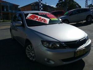 2007 Subaru Impreza MY08 RX (AWD) Silver 4 Speed Automatic Hatchback Greenacre Bankstown Area Preview