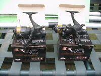 pair of Twin Handle 'Carp Runner' Reels