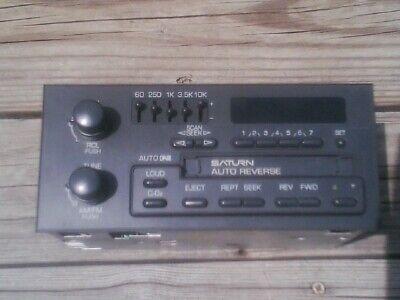 GM Delco saturn radio AM/FM CASS. with 5 band EQ . - Saturn Radio