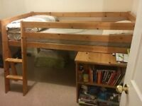 Beautiful cabin bed