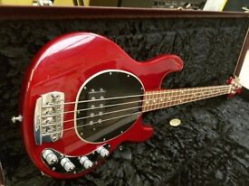 Musicman Stingray 30th Anniversary 4 String Bass