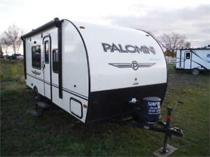 2016 Palomini 180FB Ultra Lite Travel Trailer- Only 2954LBS