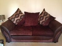 DFS four seater sofa and two seater set