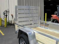 ALL ALUMINUM OPEN UTILITY TRAILERS