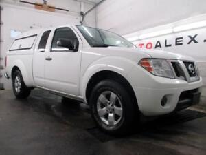 2013 Nissan Frontier SV 4.0 V6 KINGCAB BOITE  MAGS BLUETOOTH