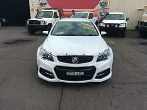 2013 Holden Commodore VF MY14 SV6 White Auto Sports Mode Sedan Gosford Gosford Area Preview