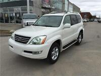 2005 LEXUS GX470*4X4*8-PASS*PEARL WHITE*LOADED*MINT SHAPE*MOON