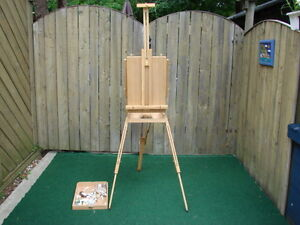 Artists' Paint kit with stand some paint Sarnia Sarnia Area image 1