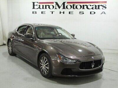 2014 Maserati Ghibli S Q4 2014 Maserati Ghibli S Q4 4D Sedan 3.0L V6