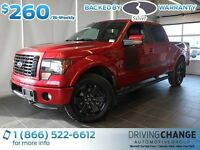 2012 Ford F-150 FX4-Appearance Pkg-Moon Roof-Luxury Pkg