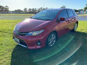 2013 Toyota Corolla ZRE182R Levin S-CVT SX Red 7 Speed Constant Variable Hatchback Prospect Prospect Area Preview