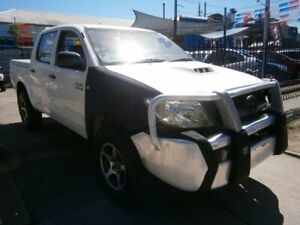 2009 Toyota Hilux KUN26R 09 Upgrade SR (4x4) White 5 Speed Manual Dual Cab Pick-up Preston Darebin Area Preview