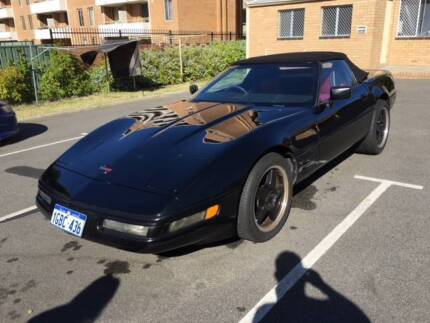 Chevrolet Corvette Convertible Auto 1987 Bayswater Bayswater Area Preview