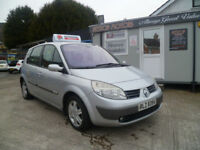 2005 RENAULT SENIC 1.5 DCI 80 BHP{only69k} MOT OCT/18 credit/debit cards accepted