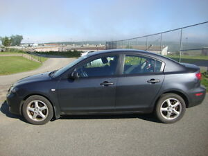 2005 MAZDA 3 Sedan with LOW MILEAGE! (ONLY 72K)