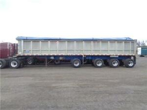 2007 STARGATE 44'FT ALUMINUM 4 AXLE SPIFF END DUMP Kitchener / Waterloo Kitchener Area image 1