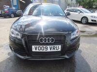 Audi A3 TDI S LINE BLACK EDITION (black) 2009
