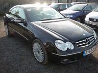MERCEDES-BENZ CLK 2.1 CLK220 CDI AVANTGARDE 2d AUTO 148 BHP (black) 2008