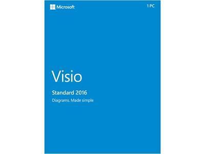 Microsoft Standard 2016 Product KEY Card - 1 PC