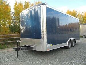 "18' CARGO TRAILER WITH 12"" EXTRA HEIGHT Prince George British Columbia image 1"