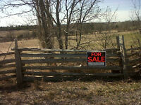 Beautiful 1-Acre Lot For Sale **NEW PRICE**